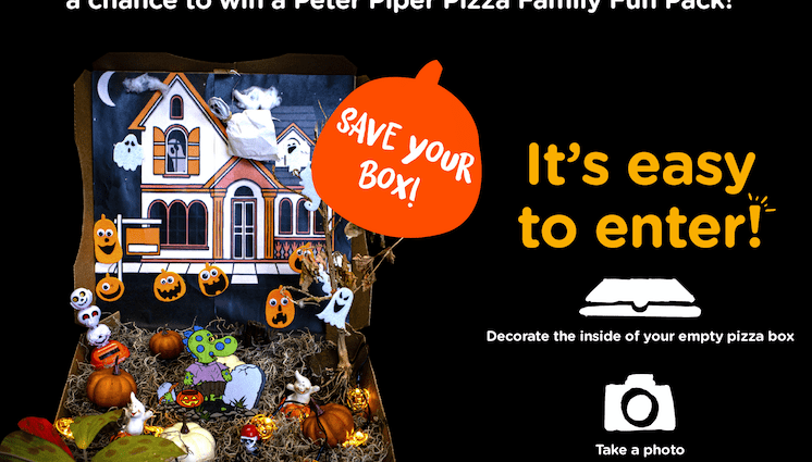 Halloween For Kids Las Cruces 2020 Peter Piper Pizza Halloween Pizza Box Decorating Contest   Las
